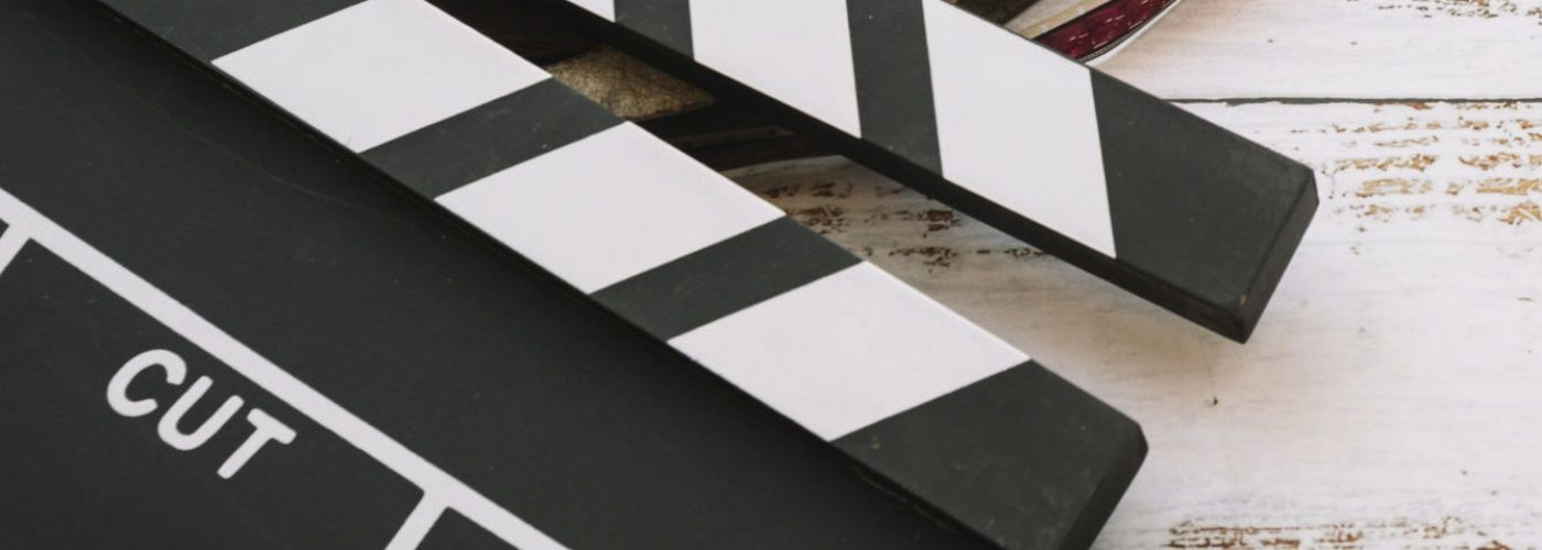 cinema-reel-with-clapperboard
